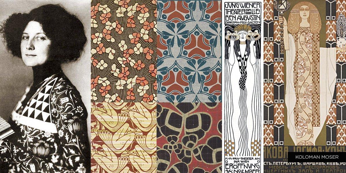 Pattern Design history: Koloman Moser