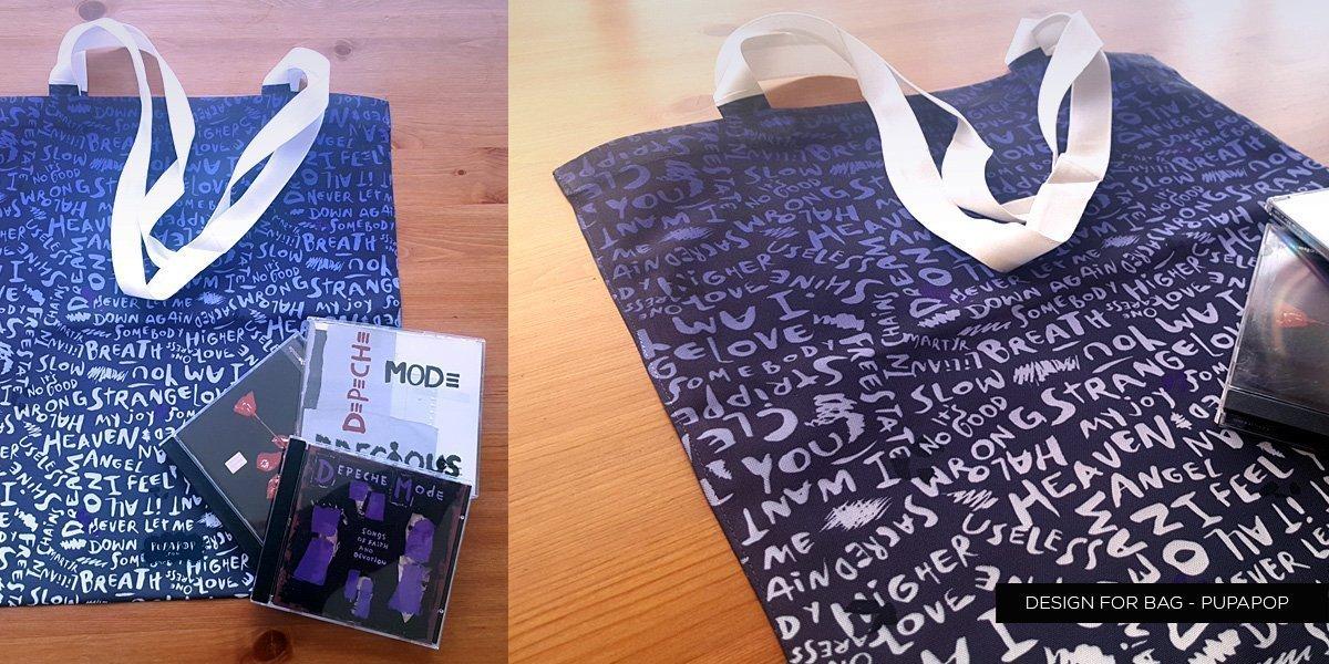 Pattern design for a bag