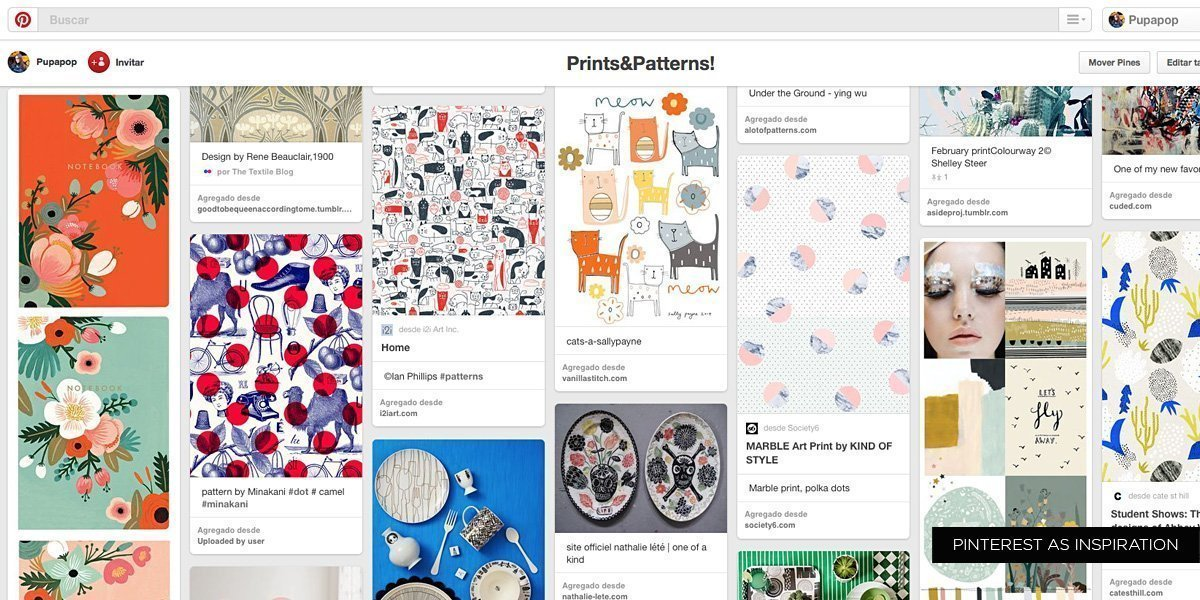 Pinterest as inspiration
