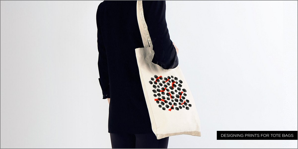 3 tips for designing prints for tote bags