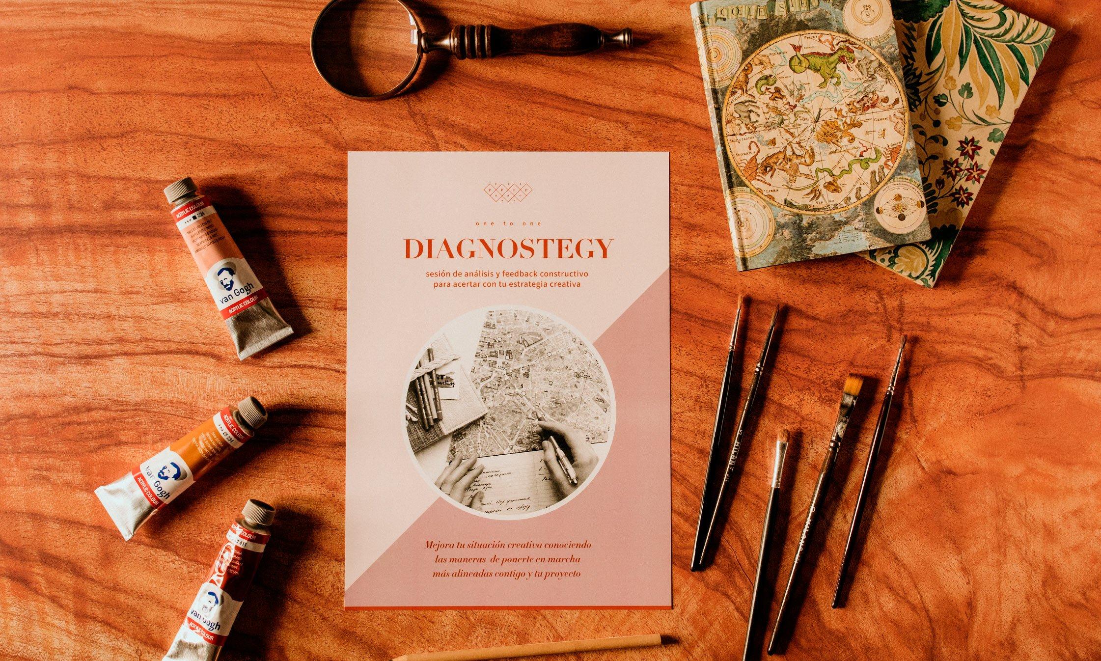 diagnostegy sesión creativa by pupapop